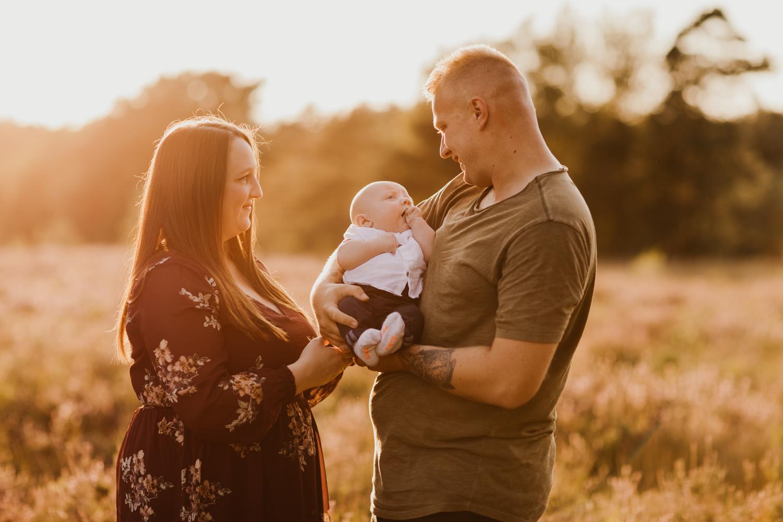 Family gezin baby