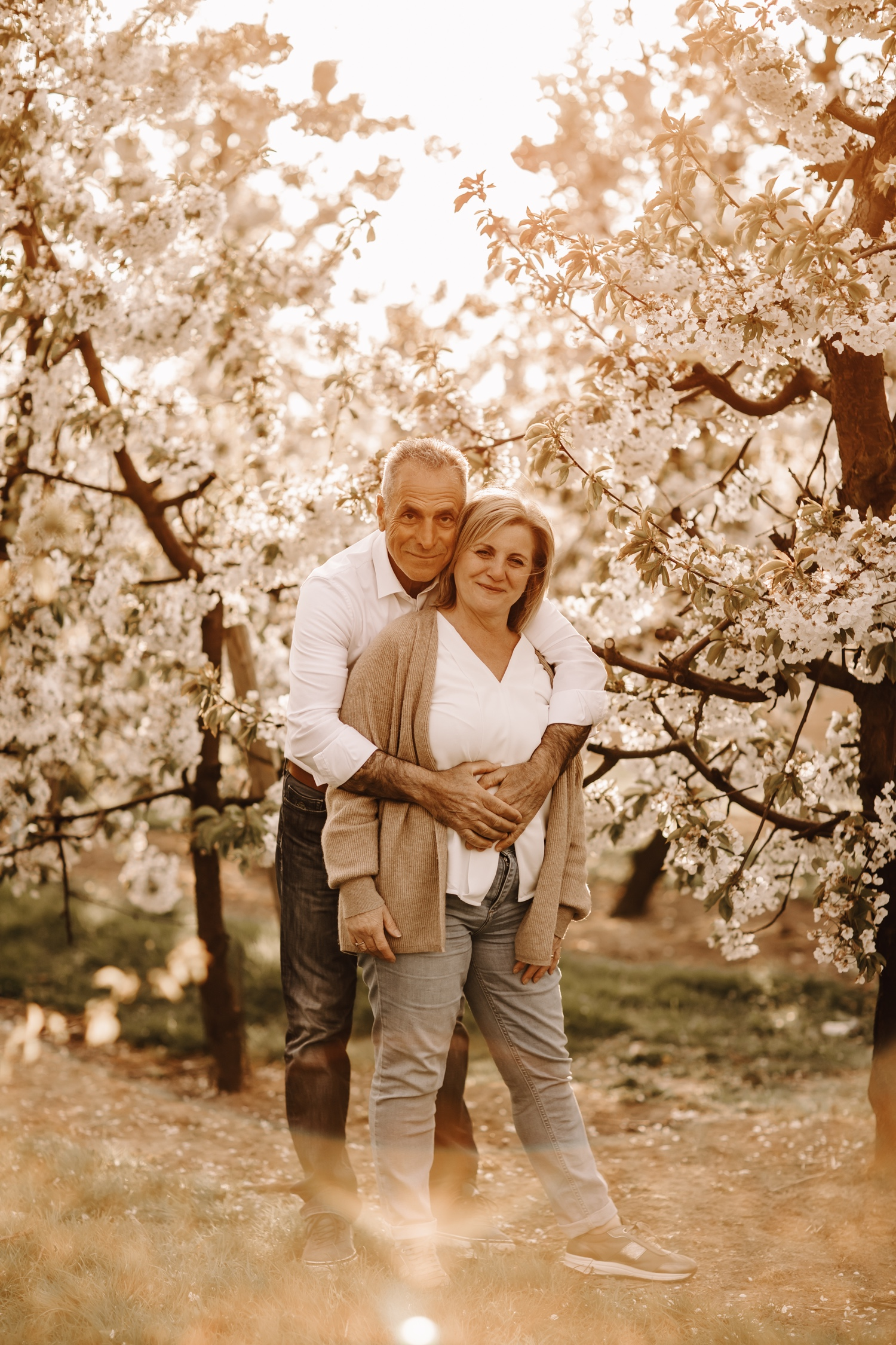 familieshoot familie fotosessie bloesems